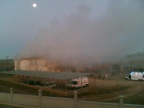 Çınar Devlet Hastanesinde Yangın 19