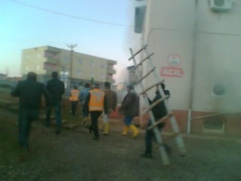Çınar Devlet Hastanesinde Yangın 22