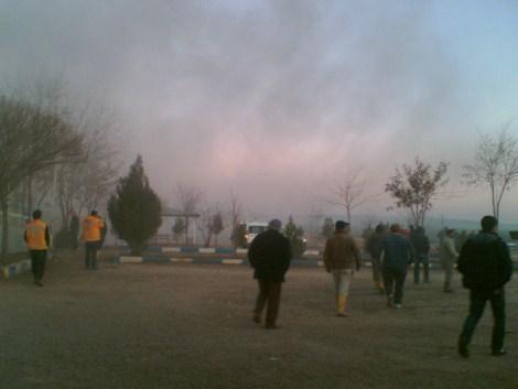 Çınar Devlet Hastanesinde Yangın 23