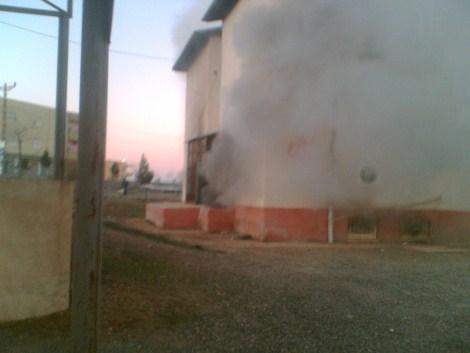 Çınar Devlet Hastanesinde Yangın 25