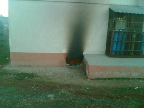 Çınar Devlet Hastanesinde Yangın 27