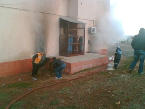 Çınar Devlet Hastanesinde Yangın 29