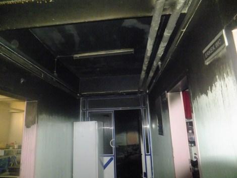 Çınar Devlet Hastanesinde Yangın 3
