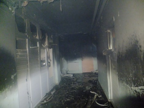Çınar Devlet Hastanesinde Yangın 4