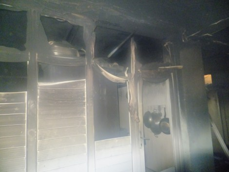 Çınar Devlet Hastanesinde Yangın 5