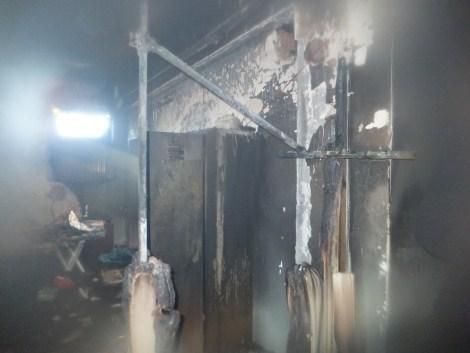 Çınar Devlet Hastanesinde Yangın 6