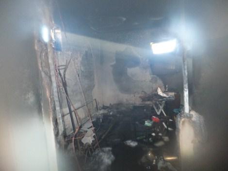 Çınar Devlet Hastanesinde Yangın 7