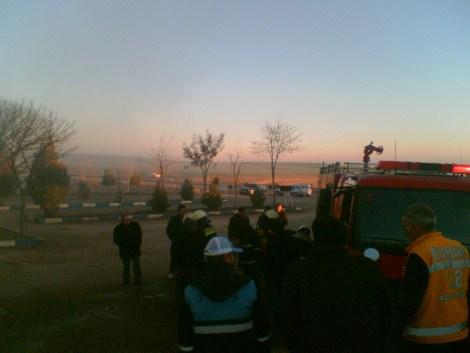 Çınar Devlet Hastanesinde Yangın 8