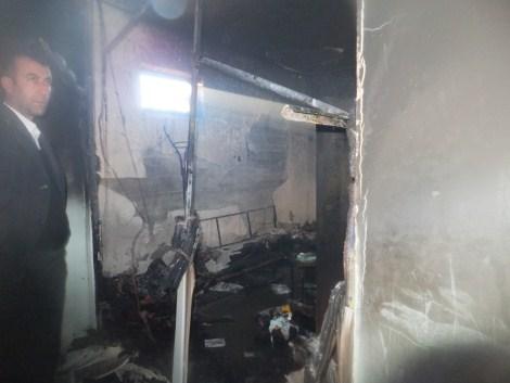 Çınar Devlet Hastanesinde Yangın 9