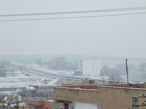 Çınar'da Kar Yağdı 11