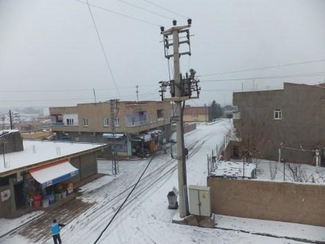 Çınar'da Kar Yağdı 2