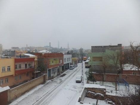 Çınar'da Kar Yağdı 5