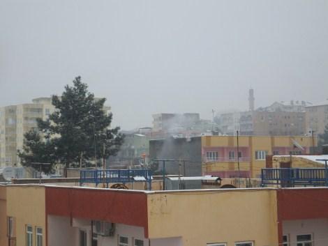 Çınar'da Kar Yağdı 6