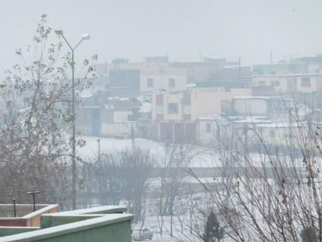 Çınar'da Kar Yağdı 7