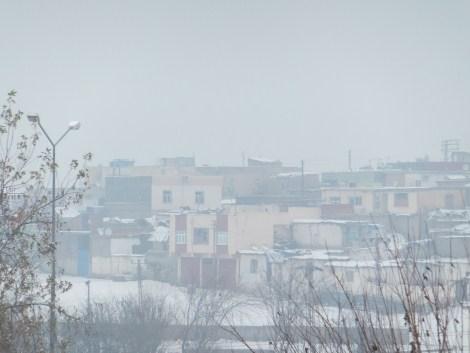 Çınar'da Kar Yağdı 8