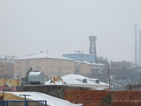 Çınar'da Kar Yağdı 9