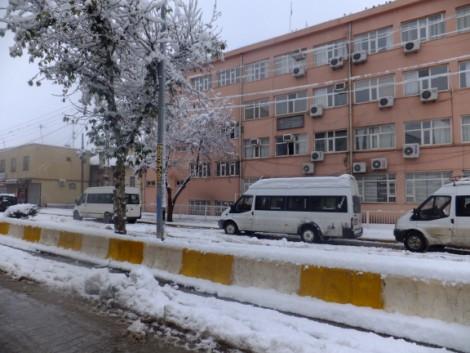 Çınar'dan Kar Manzaraları 12