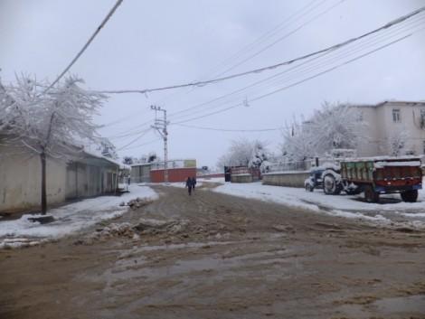 Çınar'dan Kar Manzaraları 17