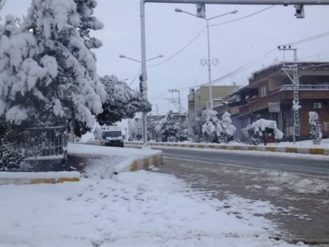 Çınar'dan Kar Manzaraları 20