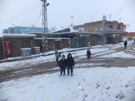 Çınar'dan Kar Manzaraları 4