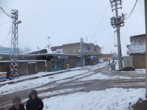 Çınar'dan Kar Manzaraları 5