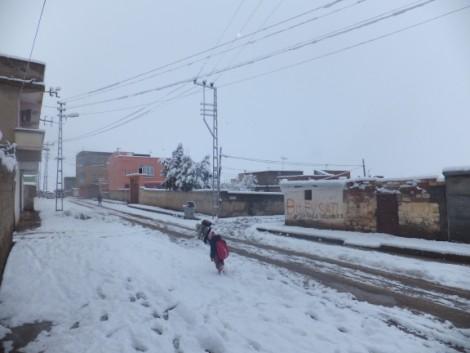 Çınar'dan Kar Manzaraları 6