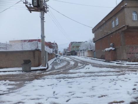 Çınar'dan Kar Manzaraları 8