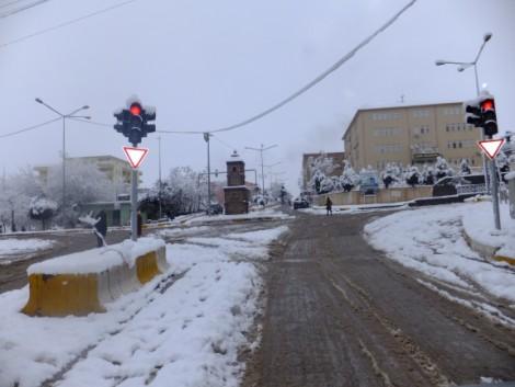 Çınar'dan Kar Manzaraları 9