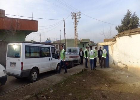 Çınar Şefkat Der`den Suriyeli Mültecilere Yardım 10