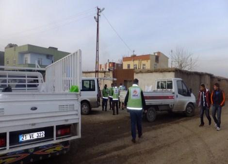 Çınar Şefkat Der`den Suriyeli Mültecilere Yardım 21