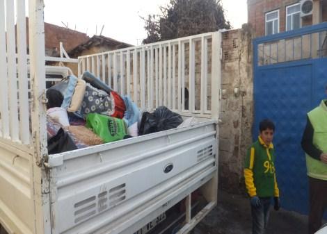 Çınar Şefkat Der`den Suriyeli Mültecilere Yardım 5