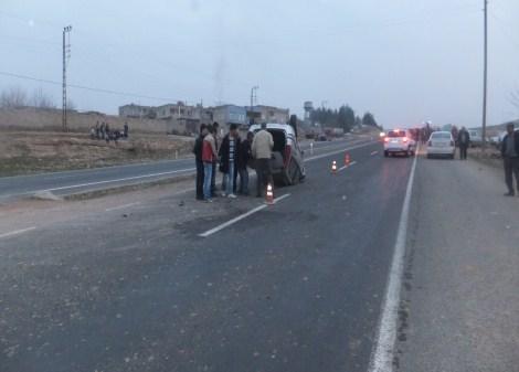Çınar'da trafik kazası: 2 yaralı 6