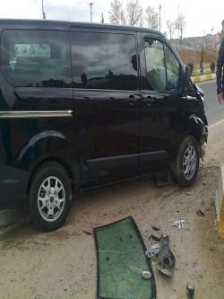 Çınar'da trafik kazası: 2 yaralı 4