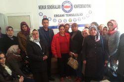 Ergani Halk Eğitim Merkezi'ndeki usta öğreticiler kadro istiyor