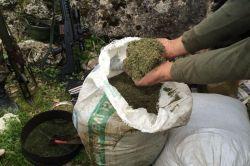 Diyarbakır'ın Lice ilçesinde 93 kilo uyuşturucu ele geçirildi video foto