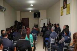 Mardin Artuklu Üniversitesinde öfke kontrolü eğitimi