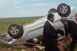 Kutlu Doğum'a giden araç kaza yaptı