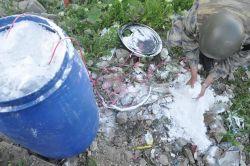 Lice Kali Camisinin karşısında patlayıcı düzeneği bulundu video foto