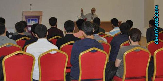 Kocaeli Üniversitesinde Yasin Börü ve Arkadaşlarının Mücadelesi konferansı