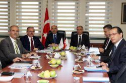Bursa Valiliğinde güvenlik toplantısı düzenlendi foto