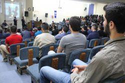 Rehber Öğrenci Topluluğu'ndan Fırat Üniversitesinde kutlu doğum etkinliği video foto