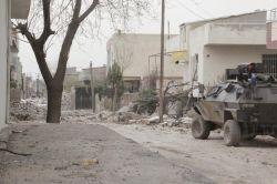 Mardin'in Nusaybin ilçesinde zırhlı araca roketli saldırı: 3 yaralı
