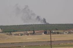 Suriye sınırındaki IŞİD mevzileri obüslerle vuruldu video foto