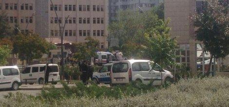Gaziantep Emniyet Müdürlüğü'ne saldırı video-foto