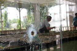 Çatışmalarda zarar gören Sur'un maketi onarılıyor video foto