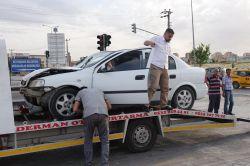 Gaziantep'te kaza: 2 yaralı foto