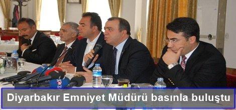 Diyarbakır Emniyet Müdürü basınla buluştu