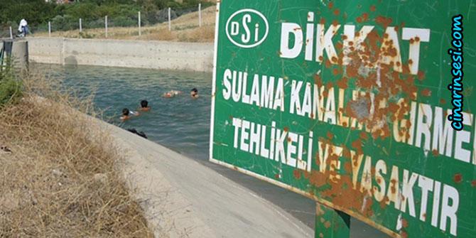DSİ halkı boğulma olaylarına karşı uyardı