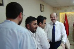 Mardinli gazetecilerden Kamu Hastaneler Birliği Genel Sekreteri Fuat Karakuş'a ziyaret video foto