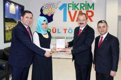 '1 Fikrim Var' proje yarışmasında ödüller sahiplerini buldu